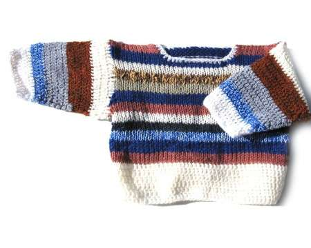 KSS Earth Crocheted/Knitted Sweater (3-4 Years)