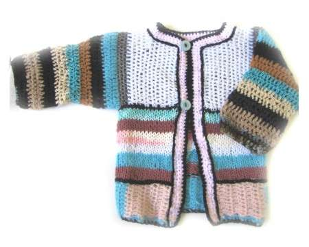 KSS Earth Crocheted/Knitted Sweater (2-3 Years)