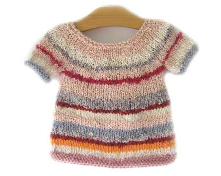 KSS Multi Colored Knitted Toddler Sweater Dress 2T