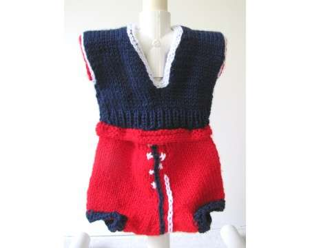 KSS Sweater Vest and Diaper Cover 3 Months