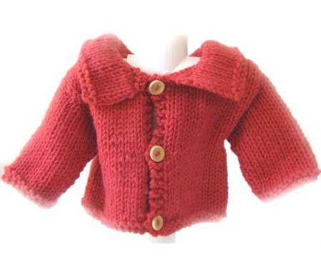 KSS Copper Colored Sweater/Cardigan (3 - 6 Months)