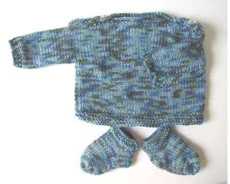 KSS Sprinbrook Soft Pullover Sweater with Booties 6 Months