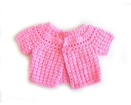KSS Bright Neon Pink Baby Sweater (3 Months)