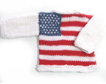 KSS Pullover Sweater with American Flag (3 Months)