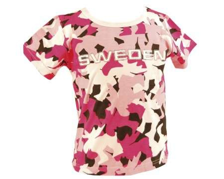 Ola Nesje T-shirt Red Camo Pattern 100cm/ 3 - 4 Years 82210