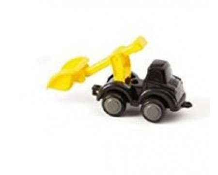 "Viking Toys 4"" Chubbies Work Truck in Black and Yellow 31143"