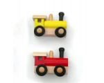 Wooden Train Magnets for the Fridge 20837-2PC