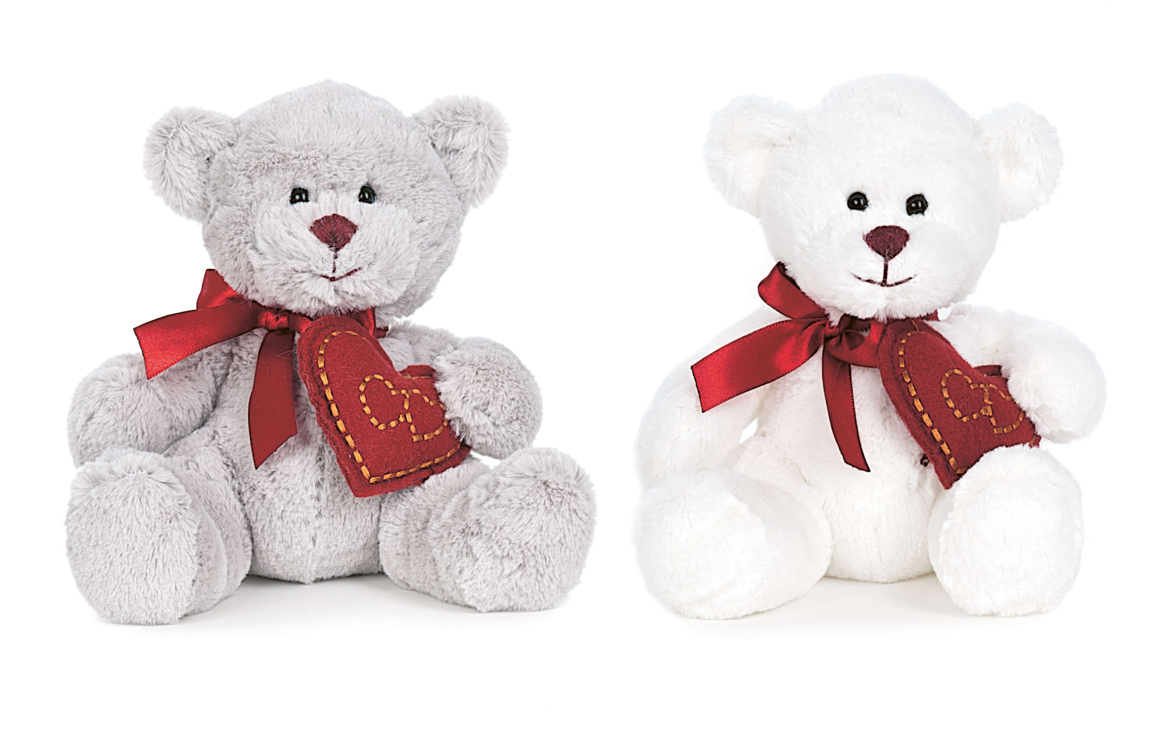 "Teddykompaniet Elvin the White Teddybear 10"" 2262"