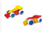 "Viking Toys Sweden Two 5"" Chubbies Racecars 1087"