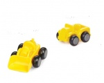 "Viking Toys 4"" Chubbies Construction Vehicles 1149-2PC VIKING-1143-2PC-CONST"
